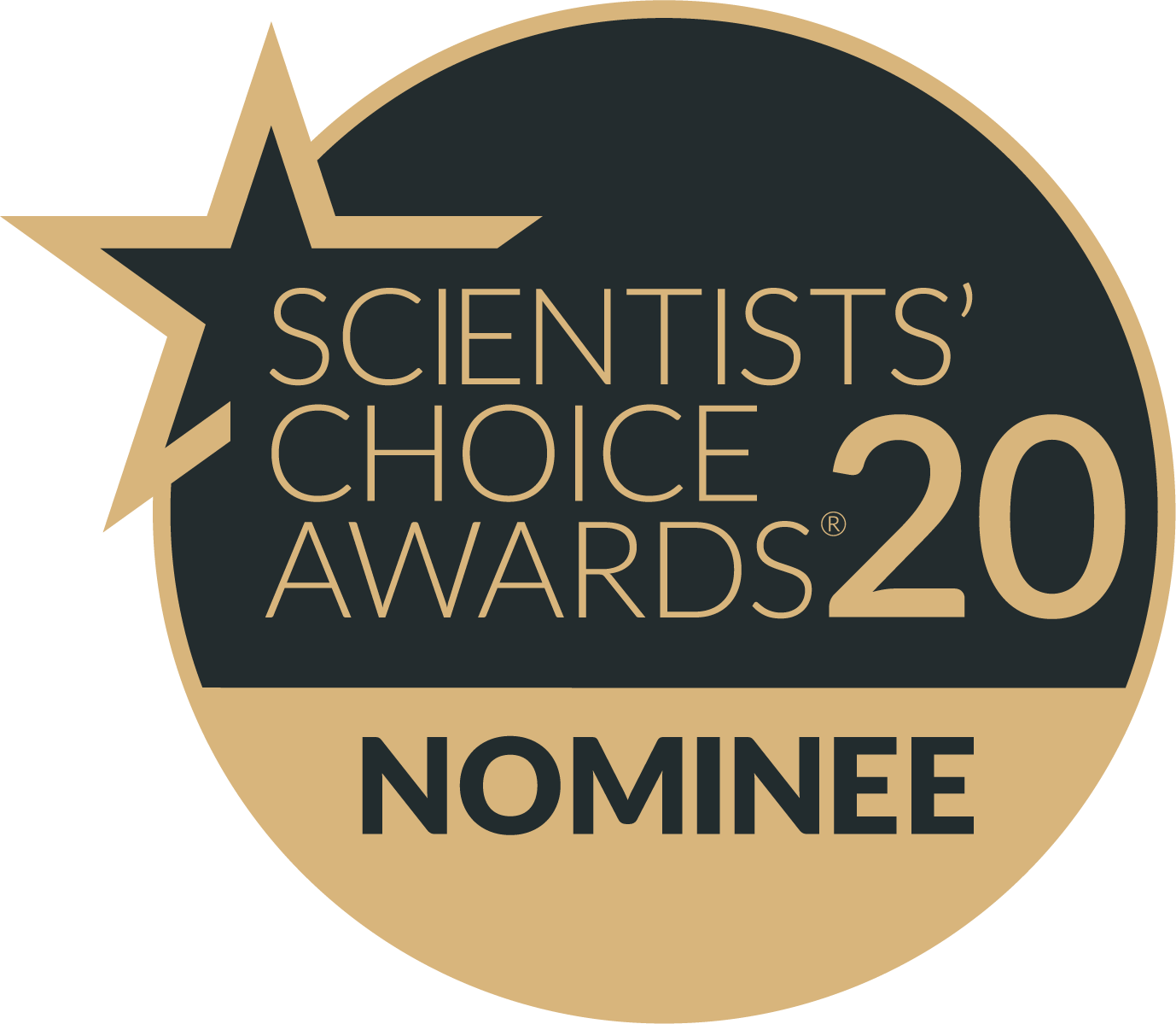 Scientists Choice Award Nominee Badge